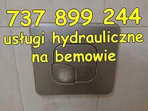 usługi hydrauliczne na bemowie