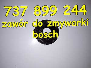zawór do zmywarki bosch